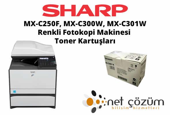 MX-C250F, Mx-C300W, MX-C301W-TONER-izmir-manisa