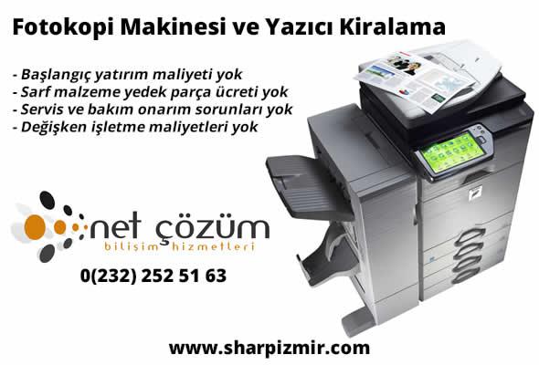 Fotokopi Makinesi ve Yazıcı Kiralama İzmir Manisa